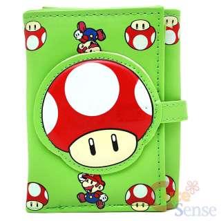 Super Mario Bothers Red Mushroom Wallet