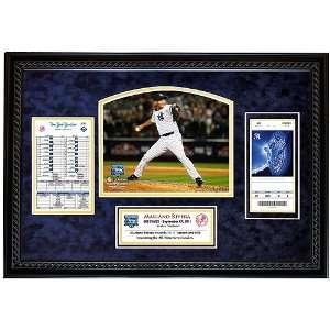 New York Yankees Mariano Rivera Record Breaking Save