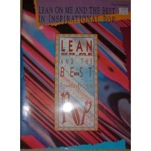 Best in Inspirational Pop (Piano/Vocal/Guitar) Warner Bros. Books