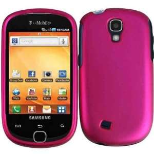 Samsung Gravity Smart T589 Matte Hard Case Cover Protector   Rose Pink