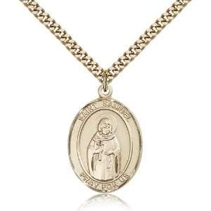 Genuine IceCarats Designer Jewelry Gift Gold Filled St. Samuel Pendant
