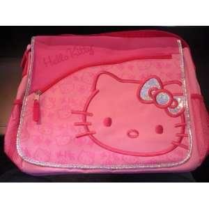 Sanrio HELLO KITTY 14 PINK SILVER MESSENGER BAG Toys