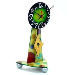 David Scherer Desk Top Green Table Clock