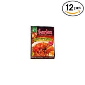 Bamboe Soto Madura Beef Soup, 1.4 Ounce (Pack of 12):