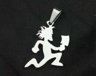 SMALL MIRROR HATCHETMAN CHARM ICP HATCHET MAN PENDANT