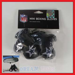 NFL Dallas Cowboys Mini Boxing Gloves/ Car/Auto