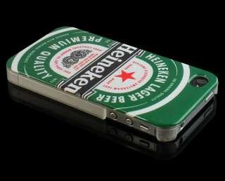 Heineken Beer Hard Back Housing Case Skin Cover for Apple iPhone 4 4G