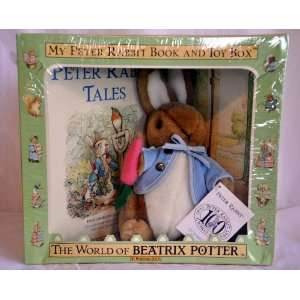 Beatrix Potter My Peter Rabbit Book and Toy Box By Eden Toys & Games
