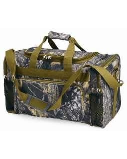 Oak 20 Camo Duffle Bag, Camouflage Hunting Gear Pack, (B1520)