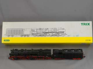 TRAINS   HO SCALE   TRIX 22530 BR 53 K #530003 2 6 8 STEAM LOCOMOTIVE