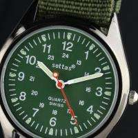 ESS Army Military Mens Watch Analog Quartz Wrist Watch Compass
