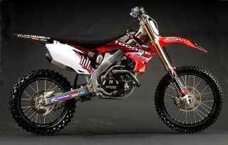 2012 N STYLE HART AND HUNTINGTON HONDA TEAM GRAPHICS KIT HONDA CRF 450