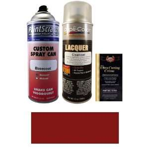 12.5 Oz. Volcanic Red Pearl Metallic Spray Can Paint Kit for 2008 Kia