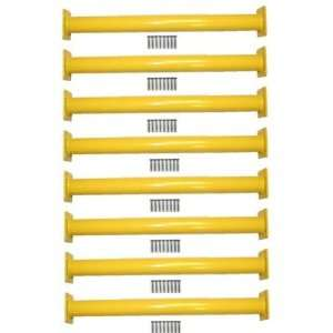 15.13 Steel Monkey Bar Rungs (Set of 8) Patio, Lawn