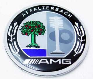 MERCEDES AMG STEERING WHEEL EMBLEM W211 W221 W204 W203 W219 CLS CLK