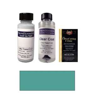 2 Oz. Medium Calypso Green Metallic Paint Bottle Kit for