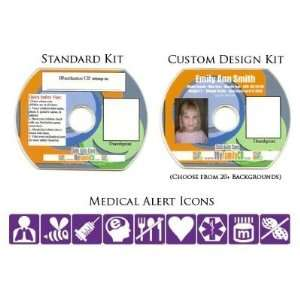 Safe Kids Card Identification CD   Child ID   DIY Kit