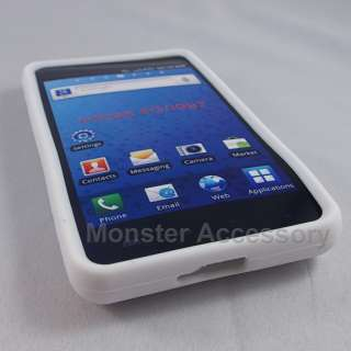 Protect your Samsung Infuse 4G with White Soft Silicone Gel Cover Case