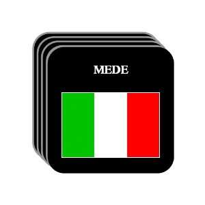 Italy   MEDE Set of 4 Mini Mousepad Coasters Everything