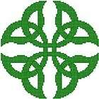 An Irish Blessing Celtic Cross Stitch Pattern Chart