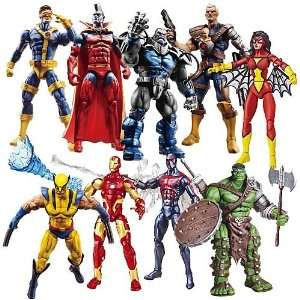 Marvel Universe Action Figures Wave 13 Case Of 12 Toys & Games