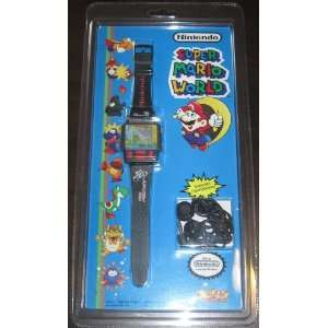 Mario World Electronic Handheld Color Game Watch (1991) Toys & Games