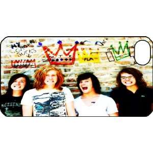 Kings iPhone 4 iPhone4 Black Designer Hard Case Cover Protector Bumper
