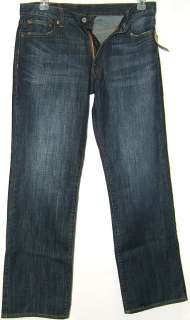 Lucky Brand Mens Vintage Straight Leg Jeans   Dark Wash