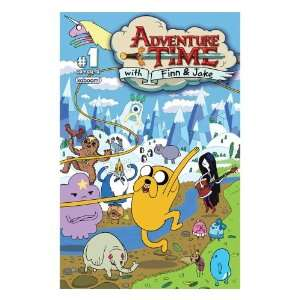 Adventure Time with Finn & Jake #1b (vol 1): Braden Lamb