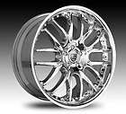 18 Lexani R 8 Chrome Wheel SET Lexani Rims for Cars 5LUG Vehicles