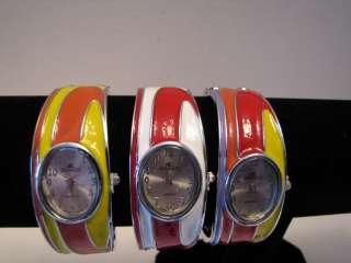 Denacci Ladies Hinged Bangle Watches Pick Your Color |