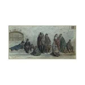 London Street Scene C186872 Framed Giclee Print
