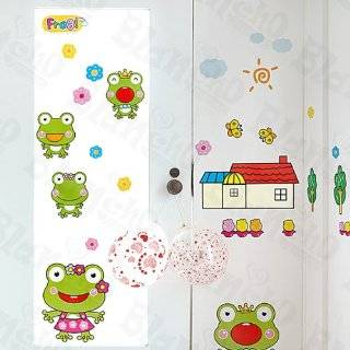 Large Green Frog Wall Stickers, Decals, Wall Decor