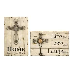 Inspirational Wall Décor   Live Love Laugh   Wall Accent