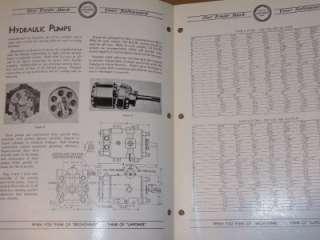 Vtg LaPointe Machine Tool Co Catalog~Hydraulic Pumps
