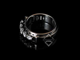 Asprey Keira 18K White Gold Five Diamond Ring SAVE
