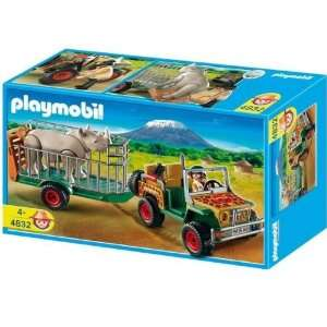 Playmobil 4832 African Wild Life Set Rangers Vehicle with
