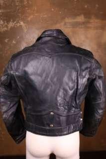 VTG  HERCULES 40s Horsehide LEATHER Motorcycle BIKER Jacket