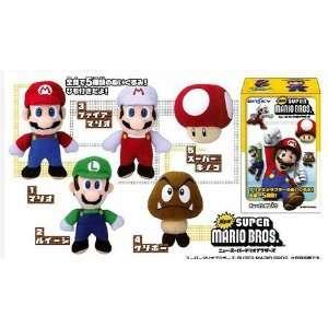 New Super Mario Bros. Mystery Plush Mini Doll (One Random