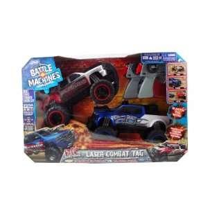 vs. Chevy Silverado 3500 2 Pack R/C Laser Tag Trucks Toys & Games