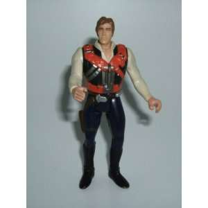 Vintage Star Wars Han Solo 1996 Hasbro   Replacement Action Figure Toy