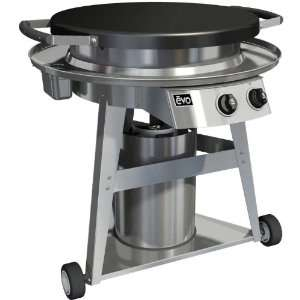 Evo Professional Classic Wheeled Cart Flattop Grill