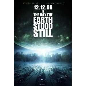 EARTH STOOD STILL ORIGINAL MOVIE POSTER KEANU REEVES