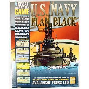 Avalanche Press U.S. Navy Plan Black The 1922 Navy