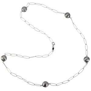 Sterling Silver Link Chain Necklace Diamond Designs Jewelry