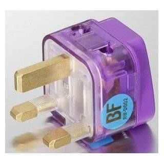 HIGH QUALITY AC POWER TRAVEL ADAPTER PLUG FOR USE IN UNITED KINGDOM