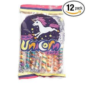 Looney Tunes Mini Unicorn, 8 Count Bags (Pack of 12)