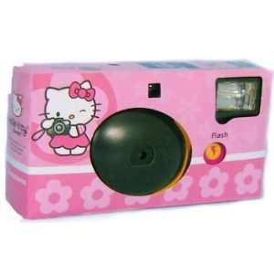 Hello Kitty Disposable Smile With Hello Kitty 35mm Flash Camera
