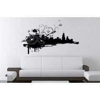 Clef Music Notes   Vinyl Wall Art Decal Stickers Decor Graphics