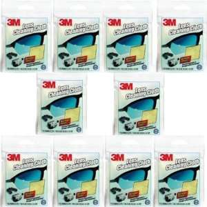 3M Microfiber Lens Cleaning Cloth   Pack of 10
